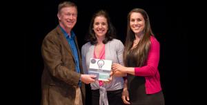 COIN Award with Governor Hickenlooper