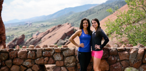 Kellie and Chrissie Red Rocks